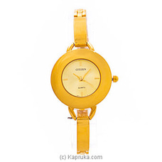 Citizen Ladies Gold Watch By Citizen at Kapruka Online for specialGifts