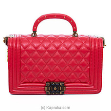 Chanel Red Leather Bag By Chanel at Kapruka Online for specialGifts