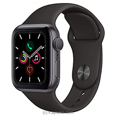 Apple IWatch Series 5 + 44mm Space Gray Aluminum GPS   Cellular + Black Sport Band By Apple at Kapruka Online for specialGifts