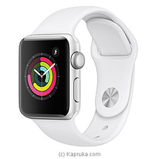 Apple Watch Series 3 42MM Space Gray Black Sport Band at Kapruka Online