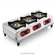 Three Burner Lpg Stove - Friendly By Friendly at Kapruka Online for specialGifts