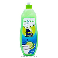 Eco Clean Anti-bacterial Dish Wash- Lime- 600ml By Eco Clean at Kapruka Online for specialGifts