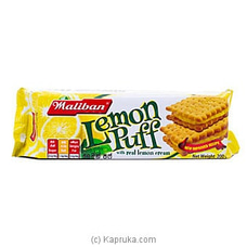 Maliban Lemon Puff 200g By Maliban at Kapruka Online for specialGifts