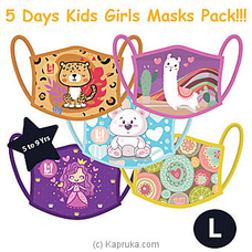 Kid`s Masks- Girl`s 5 Masks Pack at Kapruka Online