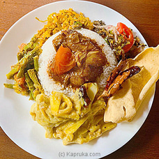 Nalika`s Rice And Curry With Chicken By Gruhanees at Kapruka Online for specialGifts