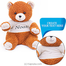 Engravable Customized Brown Teddy TEDDY at Kapruka Online