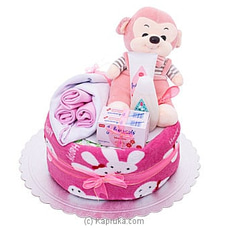 Baby Shower Gift Hamper-  Pink By Johnsons at Kapruka Online for specialGifts