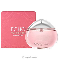 Davidoff Echo Woman Eau De Parfum Spray 100ml By Davidoff at Kapruka Online for specialGifts