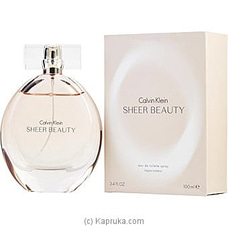 Calvin Klein Sheer Beauty Eau De Toilette Spray For Women 100ml at Kapruka Online