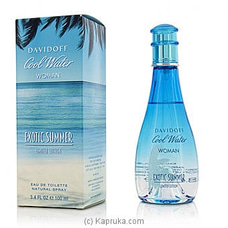 Davidoff Cool Water Woman Exotic Summer Spray 100ml By Davidoff at Kapruka Online for specialGifts