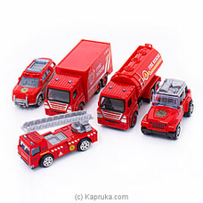 Die-cast Metal- Fire Rescue Toy Set By Brightmind at Kapruka Online for specialGifts