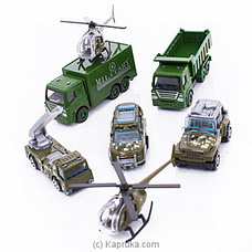 Die-Cast Metal- Army Force Vehicle Toy Set at Kapruka Online