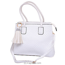 Exclusive White Ladies Handbag  By NA at Kapruka Online for specialGifts