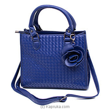 Elite Blue Handbag By NA at Kapruka Online for specialGifts