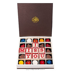Java I Miss You 25 Piece Chocolateat Kapruka Online for specialGifts