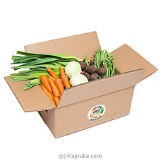 Organic Vegetable Box (Regular Size) By Mahagedara Holdings at Kapruka Online for specialGifts