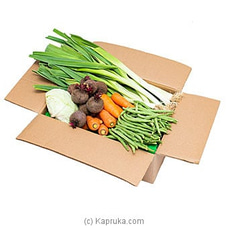 Organic Vegetable Box (Large) By Mahagedara Holdings at Kapruka Online for specialGifts