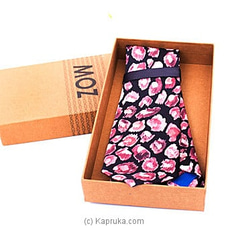 MOZ Printed Tie (Pink) By MOZ at Kapruka Online for specialGifts