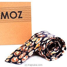 MOZ Printed Tie (Yellow) By MOZ at Kapruka Online for specialGifts