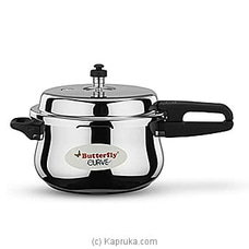 Stainless Steel Pressure Cooker Curve 3L - 17759 By Butterfly at Kapruka Online for specialGifts