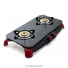 Glass Top Stove 2 Burner - Signature 17591 at Kapruka Online