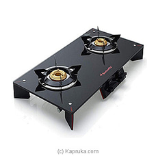 Glass Top Stove 2 Burner - Prism 17592 at Kapruka Online