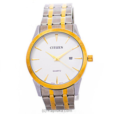 Citizen Gent`s Silver And Gold Watch at Kapruka Online