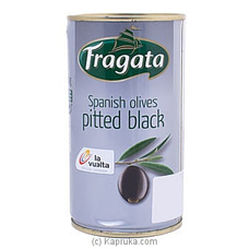 Fragata Spanish Olives Pitted Black 350g at Kapruka Online