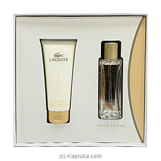 Lacoste Pour Femme Gift Set For Her By NA at Kapruka Online for specialGifts