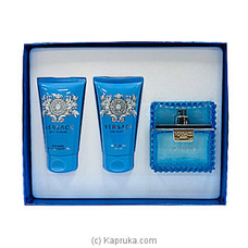Versace Eau Fraiche Gift Set For Him By Versace at Kapruka Online for specialGifts