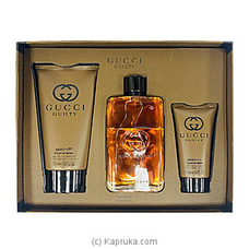 Gucci Guilty Absolute Pour Homme Gift Set For Him By GUESS at Kapruka Online for specialGifts