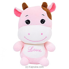 Cuddly Pink Cow By Huggables at Kapruka Online for specialGifts