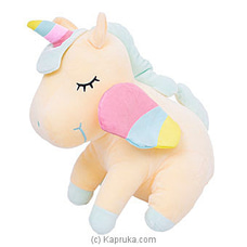 Yellow Unicorn By Huggables at Kapruka Online for specialGifts