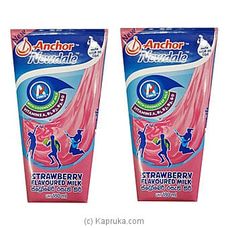 Anchor Newdale Strawberry Flavored Milk 180ml- 2 Pack By Anchor at Kapruka Online for specialGifts