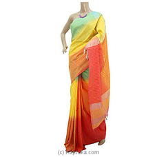 Elegant Cotton Handloom Saree By Cotton Weavers at Kapruka Online for specialGifts