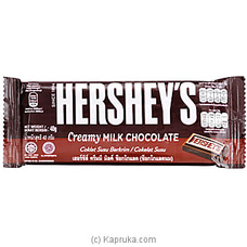Hershey`s Creamy Milk Chocolate 40g at Kapruka Online