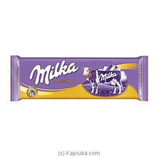 Milka Alpine Milk Chocolate 270g at Kapruka Online