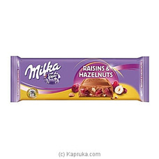 Milka Raisins And Hazelnuts 270g By Milka at Kapruka Online for specialGifts