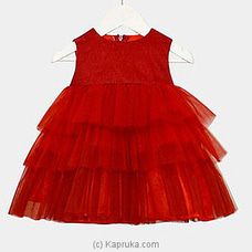 Pom Pom Red Dress at Kapruka Online