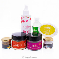 Aroma Oily Acne Skin Gift Set By Aroma Natural at Kapruka Online for specialGifts