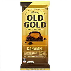 Cadbury Old Gold Dark Chocolate- Caramel 180g at Kapruka Online