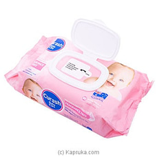 Curash Baby Care Fragrance Free Baby Wipes By Curash at Kapruka Online for specialGifts