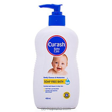 Curash Baby Care Soap Free Bath - 400ml By Curash at Kapruka Online for specialGifts