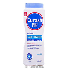 Curash Baby Care Anti Rash Baby Powder - 100g By Curash at Kapruka Online for specialGifts