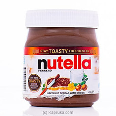 Nutella Hazelnut Spread With Cocoa 400g By Nutella|Globalfoods at Kapruka Online for specialGifts