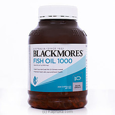 Blackmores Fish Oil 1000- 400 Capsules By Blackmores|Globalfoods at Kapruka Online for specialGifts