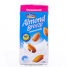 Blue Diamond Almond Breeze Unsweetened Almond Milk 1L By Blue Diamond|Globalfoods at Kapruka Online for specialGifts