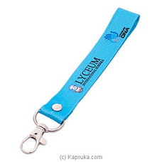Lyceum Fabric Blue Key Tag at Kapruka Online