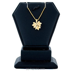 Swarnamahal 22kt Yellow Gold Studded Pendant With C/Z- PE0001525 By Swarna Mahal at Kapruka Online for specialGifts