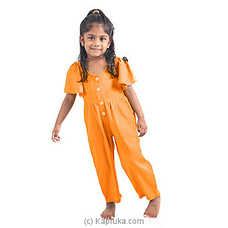 Beautiful Jump SuitLJS001-LIGHT ORANGE By Lishe at Kapruka Online for specialGifts